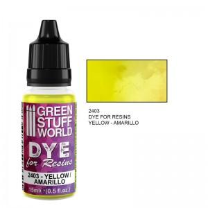 Dye for resin Yellow - Gele kleurstof voor resin&epoxy 15ml