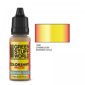Burning Gold Chameleon - Colorshift 17ml