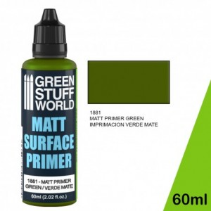 Green Matt Surface Primer 60ml