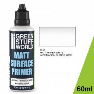 White Matt Surface Primer 60ml