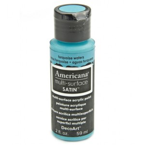 Turquoise Waters Americana Multi-Surface Satins 59ml