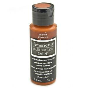Paprika Americana Multi-Surface Satins 59ml
