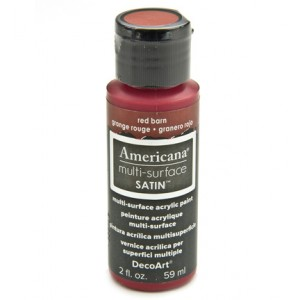 Red Barn Americana Multi-Surface Satins 59ml