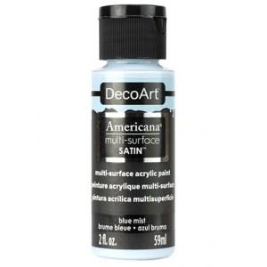 Multi Surface Satin Acrylics Blue Mist