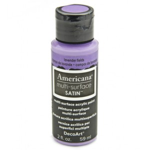 Multi Surface Satins Acrylics Lavender Fields