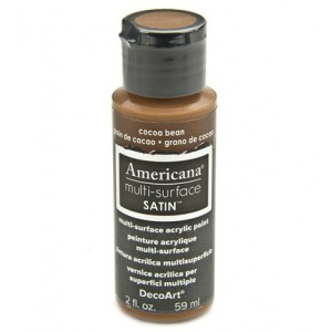Multi Surface Satins Acrylics Cocoa Bean