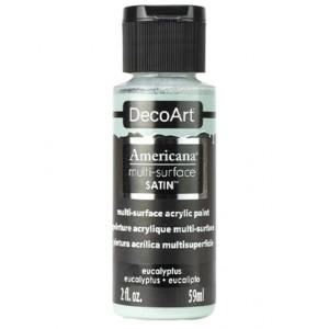 Multi Surface Satin Acrylics Eucalyptus