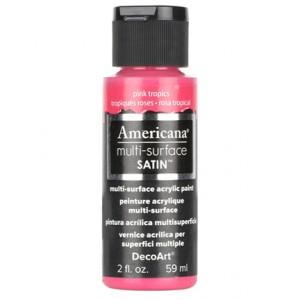 Pink Tropics Multi Surface Satin Acrylics