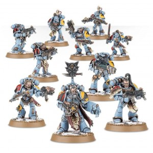 40K Space wolves grey hunters