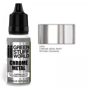Chrome paint - Metaal chroom verf
