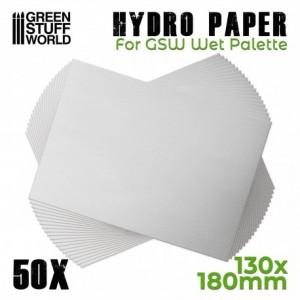 Hydro papier (50st) voor Wet Palette
