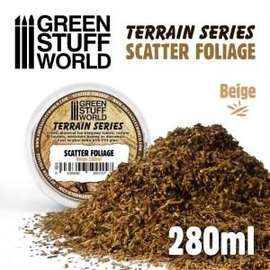 Scatter foliage - strooi blad (beige)
