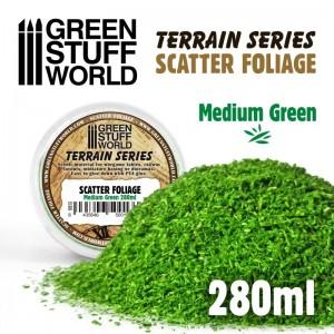 Scatter foliage - strooi blad (medium groen)