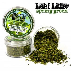 Groene miniatuur blaadjes 10g