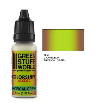 Tropical Green 1556 chameleon colorshift 17ml