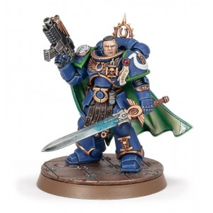 40K Space marines Captain Uriel Ventris
