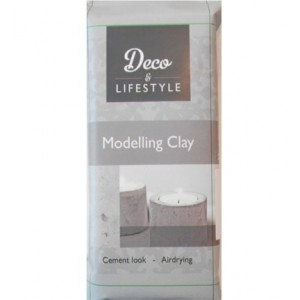 Creall Modelling clay cement look 500gr