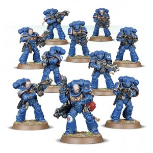 40K Space Marines Intercessors