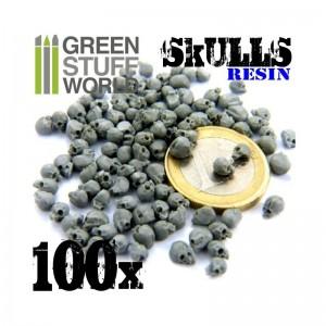 Skulls 100stuks (resin)