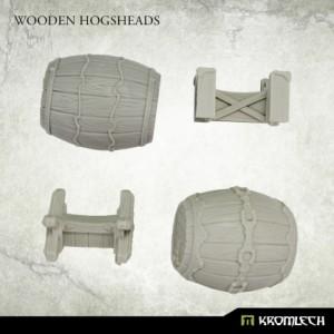 Wooden Hogsheads (2st)