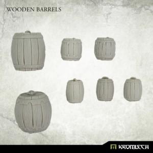 Wooden Barrels (8st)