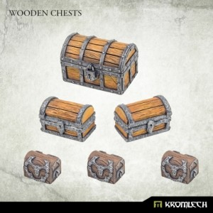 Wooden Chests (6st)