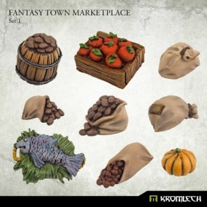 Fantasy Town Marketplace 1 (9st)