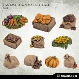 Fantasy Town Marketplace 2 (10st)