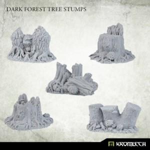 Dark Forest Tree Stumps (5st)