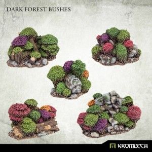 Dark Forest Bushes (5st)