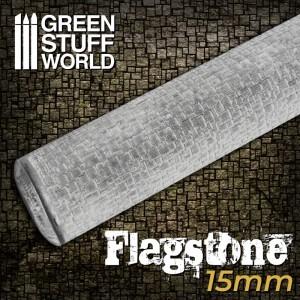 Rolling pin Flagstone - figuur roller Tegels