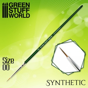 Synthetishe Penselen set GreenStuffWorld