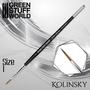 Kolinsky Brush Set Silver Series