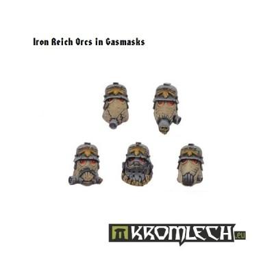 Savage Orcs Heads (10st)